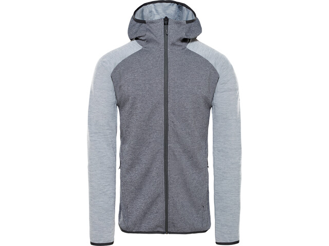 The North Face Ondras II Huppari Miehet, tnf black heather/mid grey heather